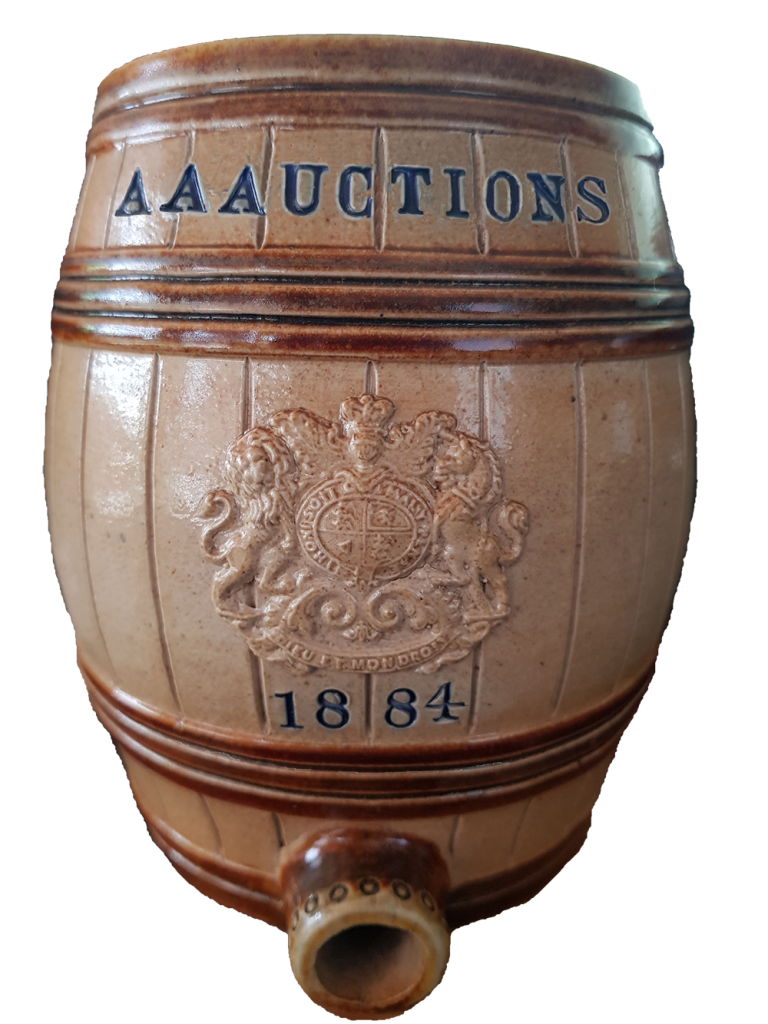 AA AUCTIONS LTD - BARREL LOGO