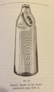 Fig 18 - Hayne's 'Bottle of the future'
