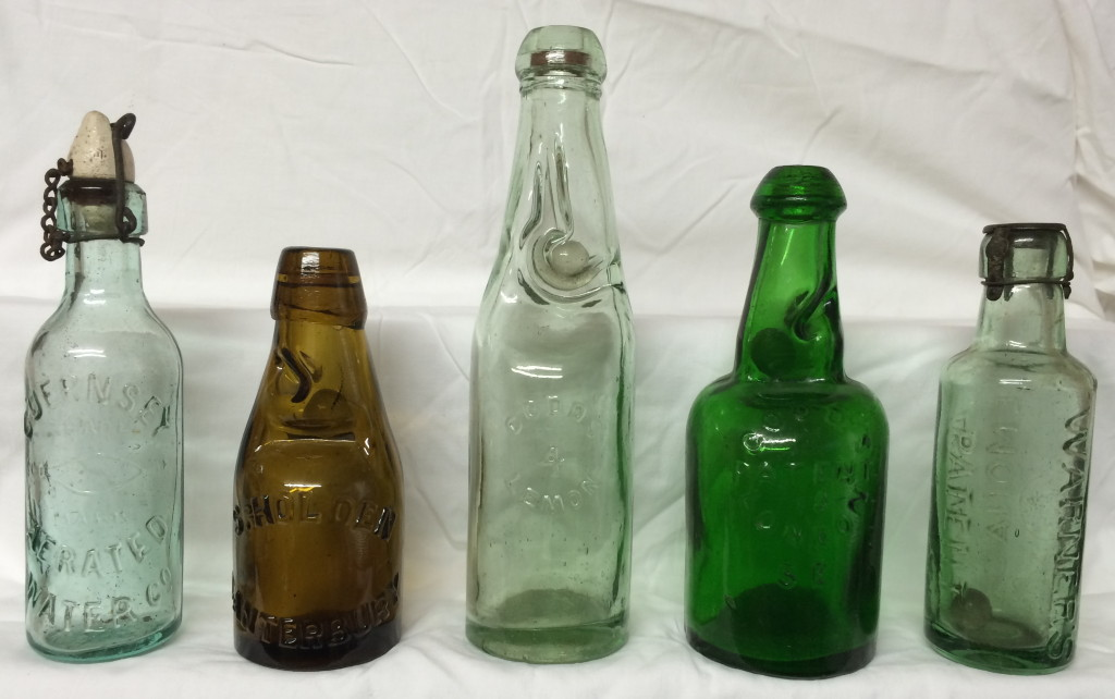 Five great bottles! (photo taken a few hours after they were unwrapped)